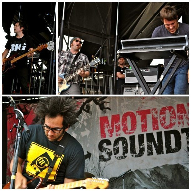 Motion City Soundtrack Vans Warped Tour 2013 Long Island