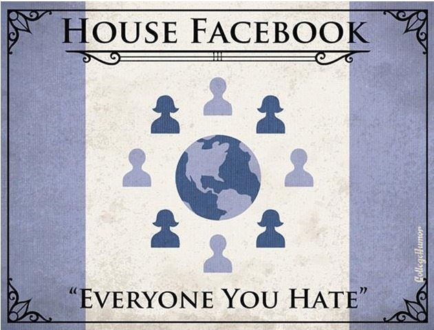 game of thrones house of facebook H Caldwell Tanner