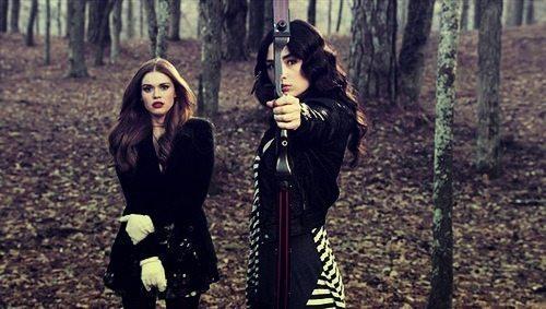Teen Wolf MTV Lydia and Allison