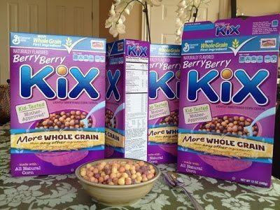 Berry Berry Kix 90s foods
