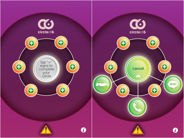 Circle of 6 App Review Screenshots