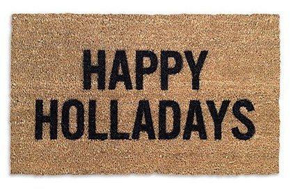 Happy Holladays Doormat Dormify