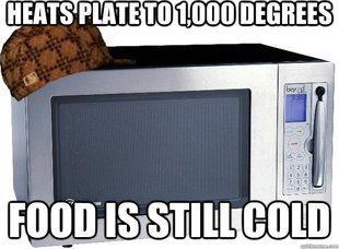 Scumbag Microwave Meme