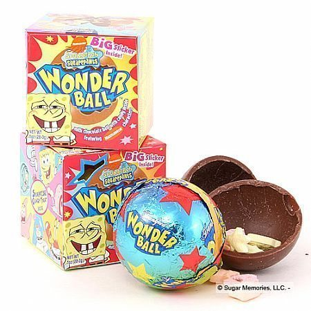 The Wonderball Wonder Ball Candy