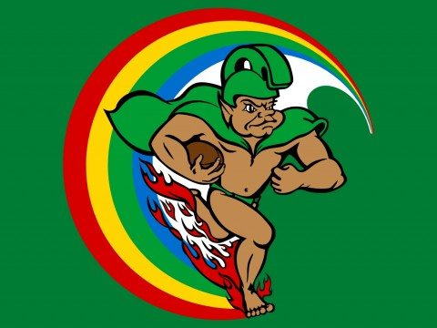 University of Hawaii Rainbow Warriors Mascot Logo