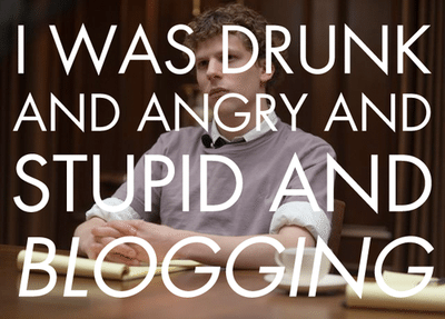 blogging jesse eisenberg the social network