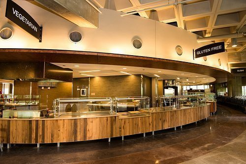 Hampshire Dining Hall UMASS Amherst