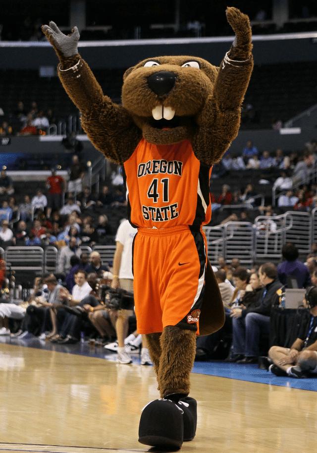 Benny The Beaver - Oregon State University Beavers - Mascot Monday