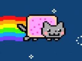 Nyan Cat Pop Tart Cat