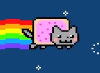 Nyan Cat Pop Tart Cat