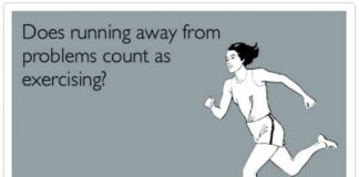 does-running-away-from-problems-count-as-exercising