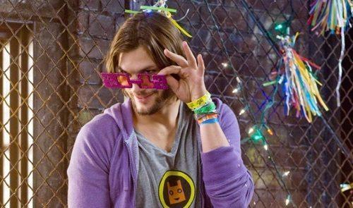 Ashton Kutcher NYE