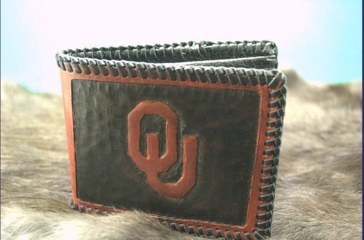 ETSY college leather wallet
