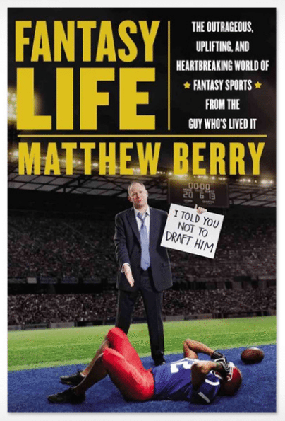 Fantasy Life Matthew Berry Book Cover
