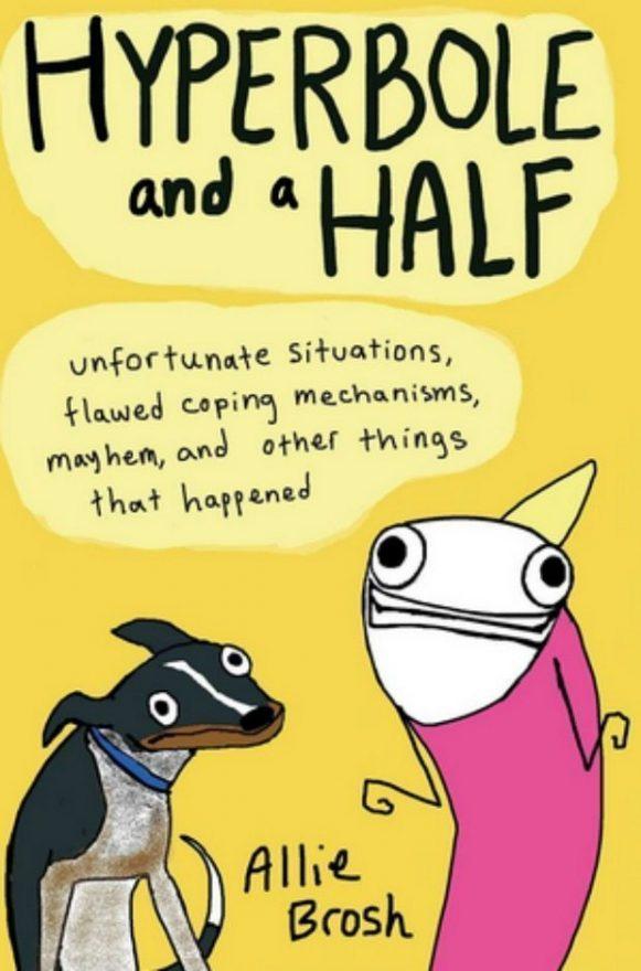 Hyperbole and a Half, cover