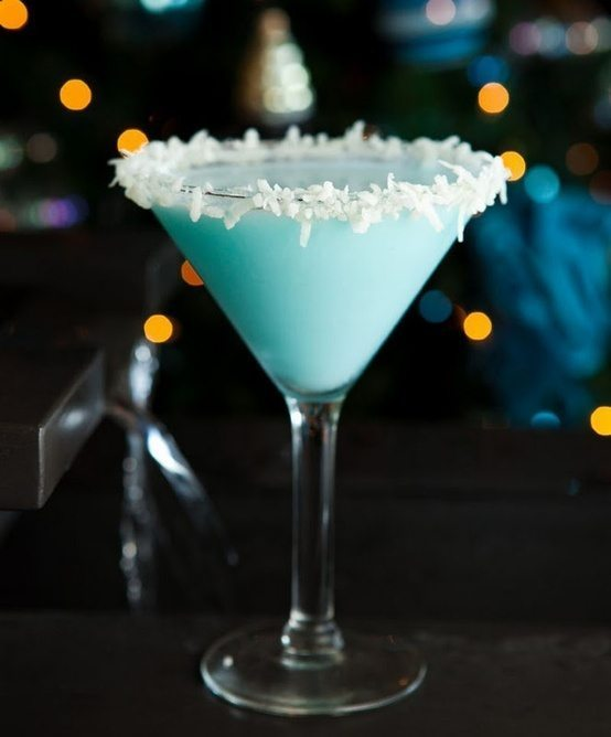 NYE Blue Cocktail