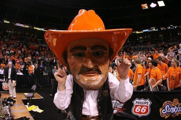 Oklahoma State Cowboys Mascot Monday