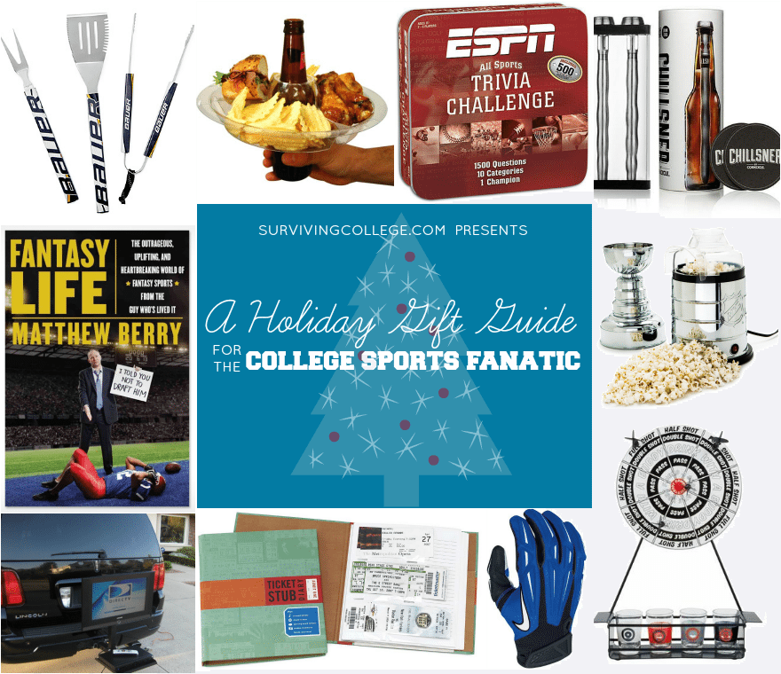 CampusRiot Gift Guide Sports Fanatics