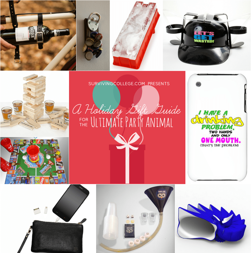 CampusRiot Holiday Gift Guide For The Ultimate Party Animal
