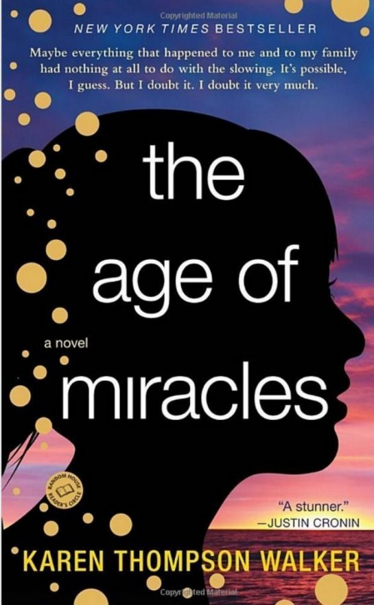 The Age of Miracles, cover