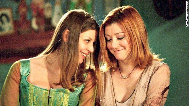 Willow and Tara - Buffy the Vampire Slayer
