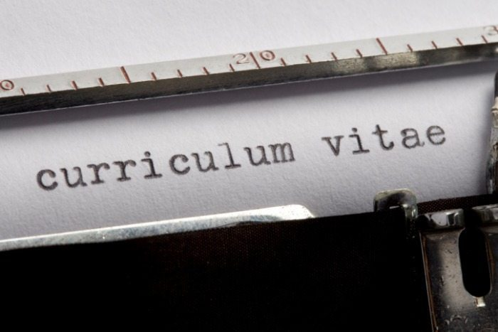 resume curriculum vitae