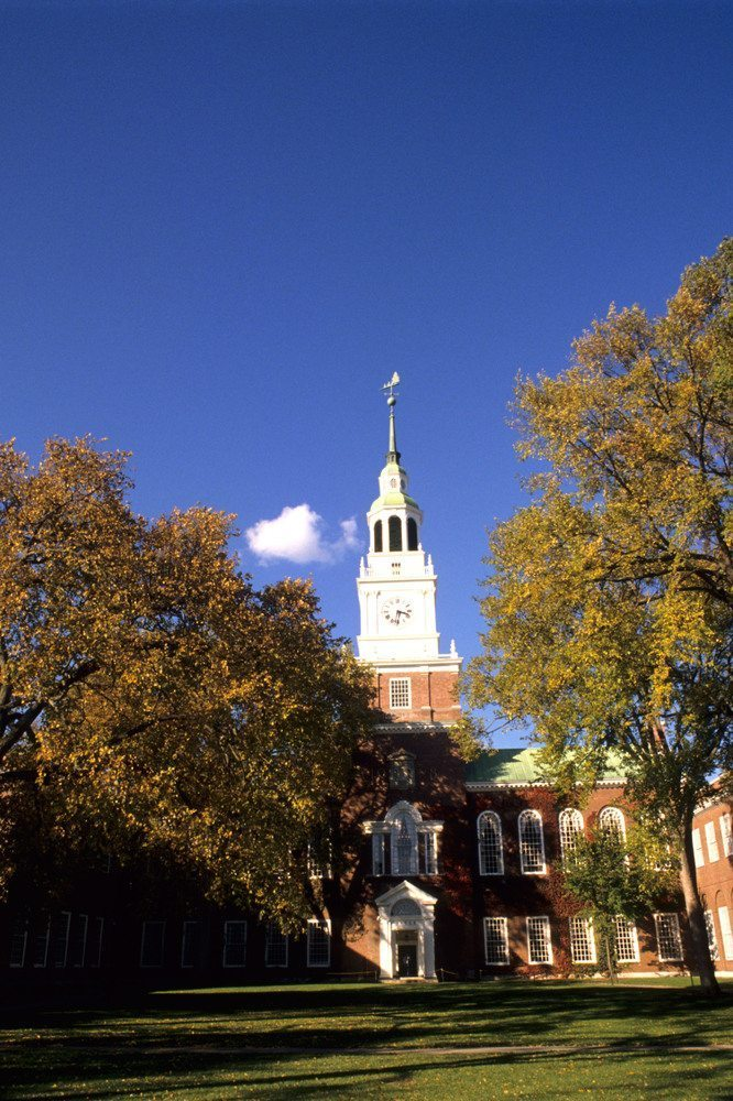 Dartmouth College Best Undergraduate Teachers