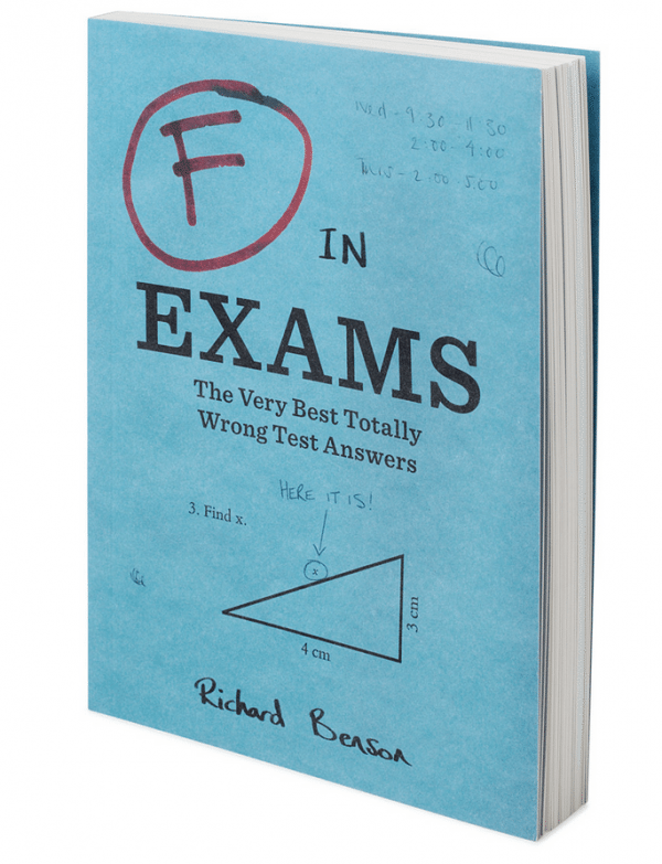 F for Exams Book Wrong Test Answers