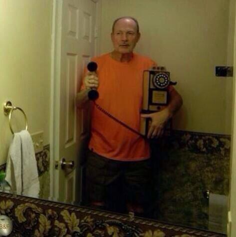 Grandpa Selfie - Selfie Olympics