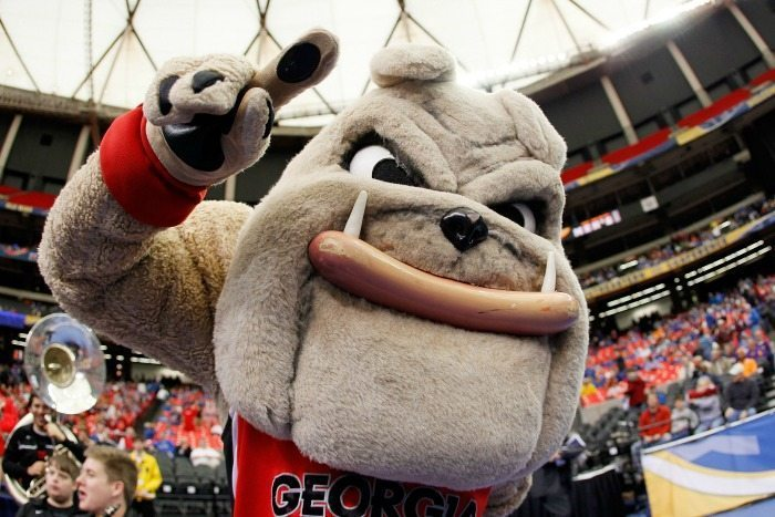 Hairy Dawg University of Georgia Bulldogs Mascot Monday