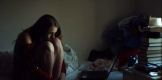 Lonely Girl Laptop Room