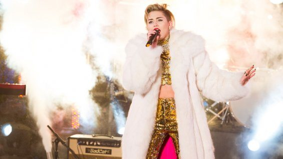 Miley Cyrus New Year's Eve