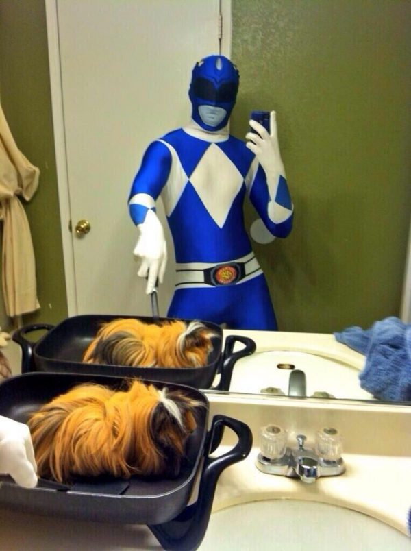 Power Ranger Selfie - Selfie Olympics