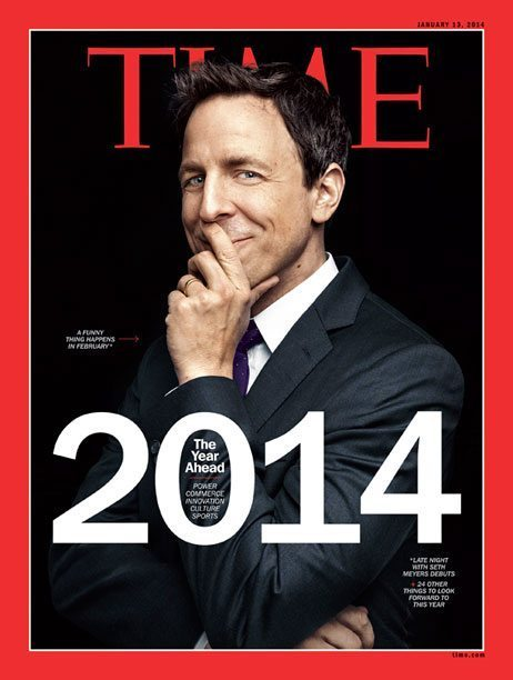 Seth Meyers TIME cover
