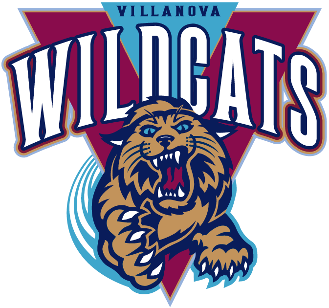 Villanova Wildcats Villanova University Logo