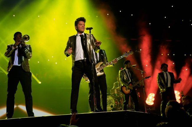 Bruno Mars Super Bowl Half-Time Performance