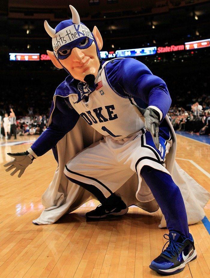 Duke University Blue Devils Mascot Monday 2