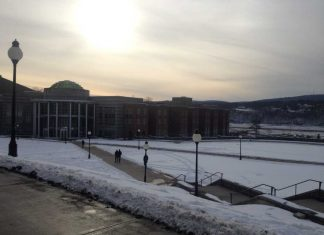 Marist in the Snow