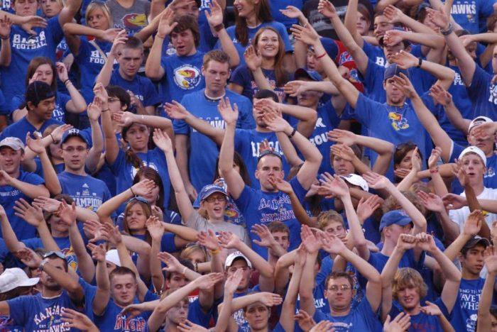 KU Basketball Jayhawks Fans