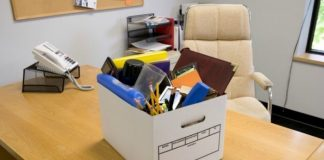 Laid Off - Packing Up Office