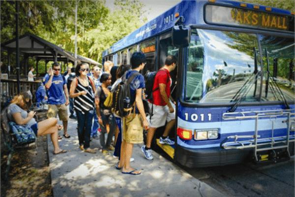 University of Florida Transloc RTS Bus