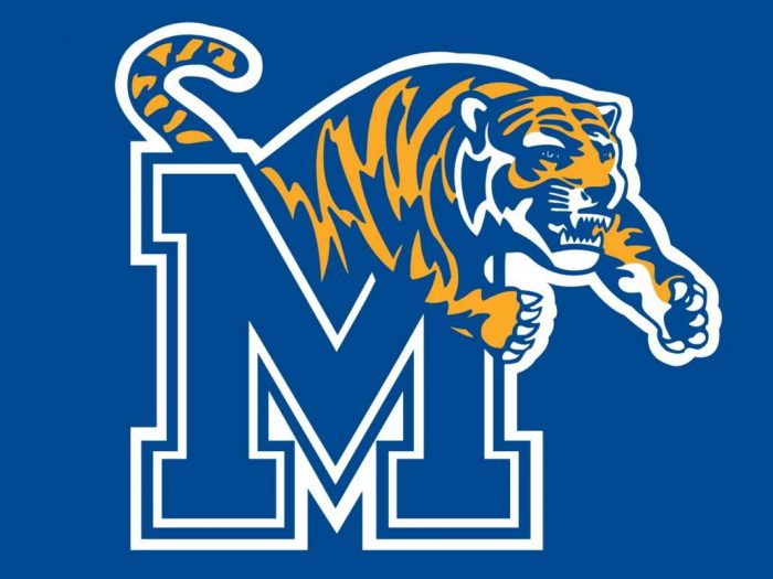University of Memphis Tigers Logo Mascot Monday