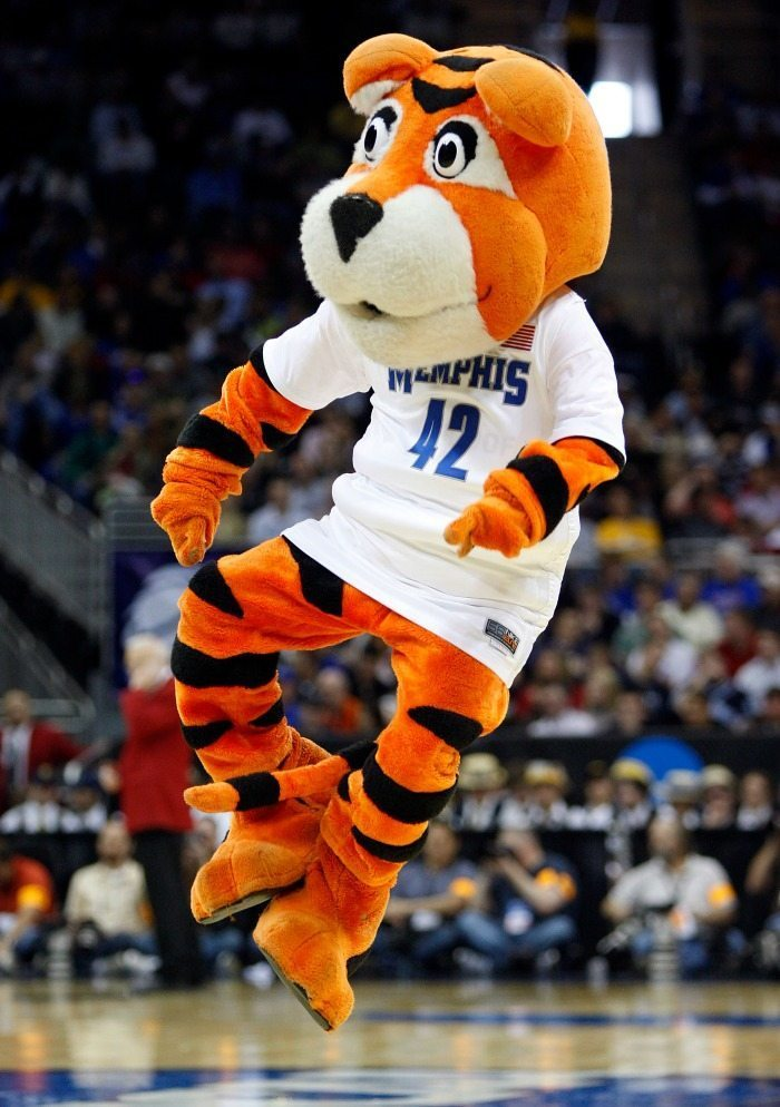 University of Memphis Tigers Mascot Monday 1