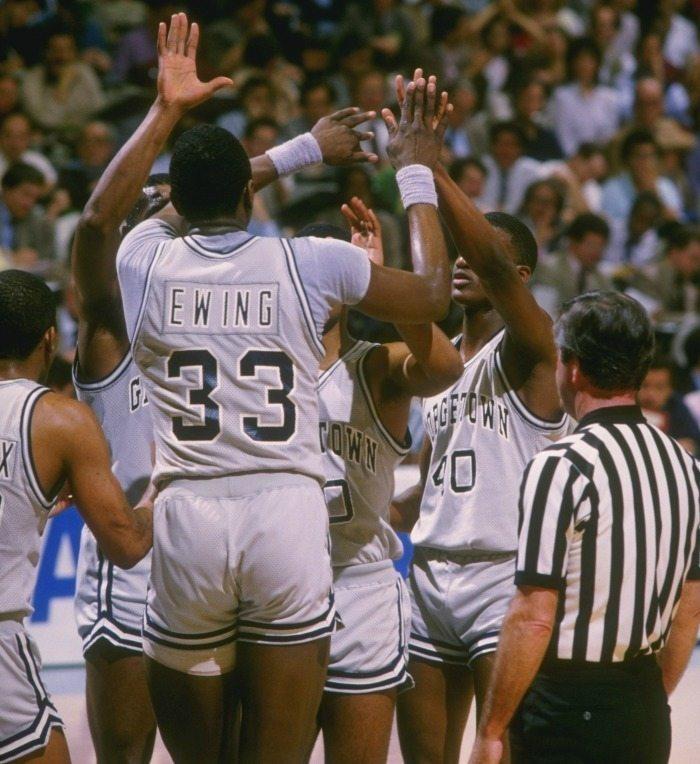 1983-1984 Georgetown Hoyas Patrick Ewing