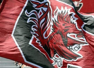 Carolina Gamecocks Flag