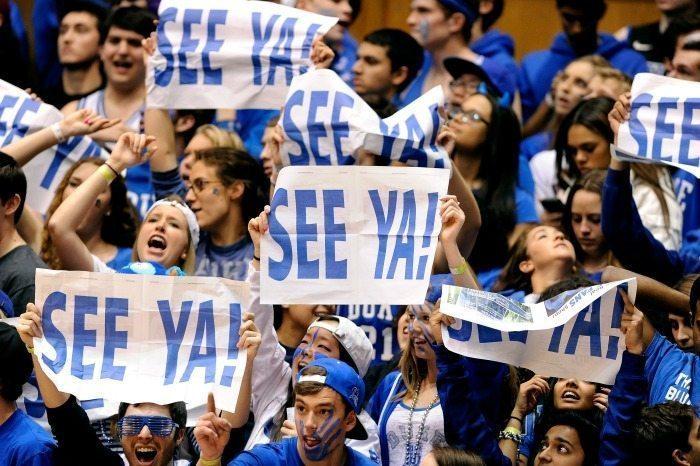 Duke University Cameron Crazies 2014