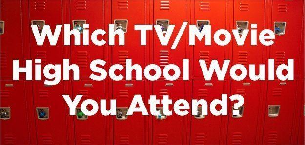 TV or Movie High School