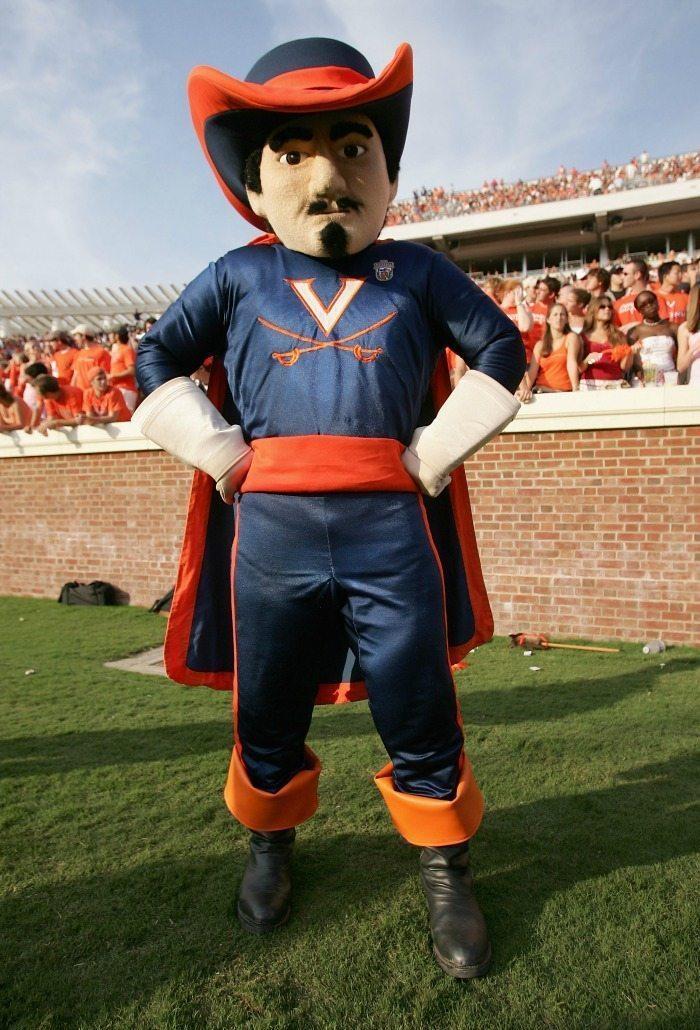 Mascot Monday University of Virginia Cavaliers 1