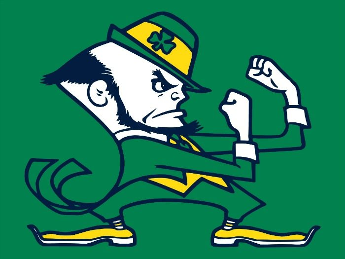 Notre Dame leprechaun casts rankings spell