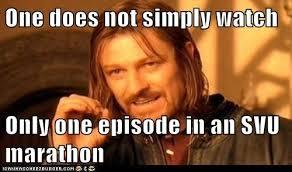 SVU Marathon